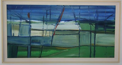 Shipwrecked blue grass