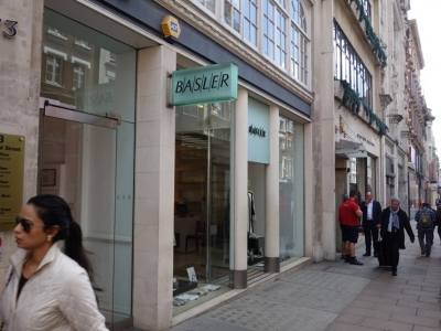 Rent review for Basler 73 New Bond Street