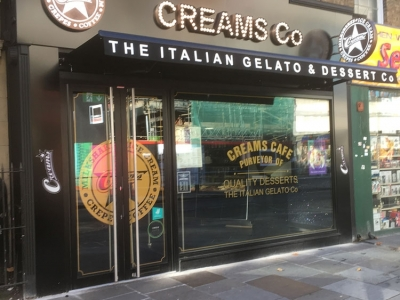 Letting to Creams Co 83 King Street Hammersmith