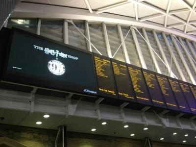 The Harry Potter Shop At Platform 9 3/4, Kings Cross Station