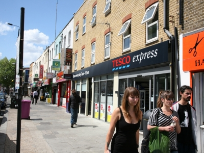 Letting to Tesco, Bethnal Green Road and subsequent Investment sale of whole block