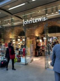 John Lewis, St Pancras